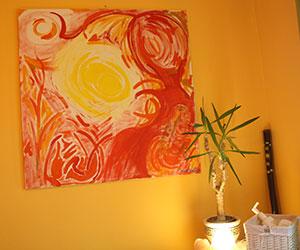 Wandbild Massage & EnergieCenter